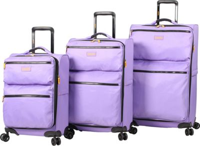 LUCAS Ultra Light Weight Originals 3 PC Spinner Collection Purple - LUCAS Luggage Sets