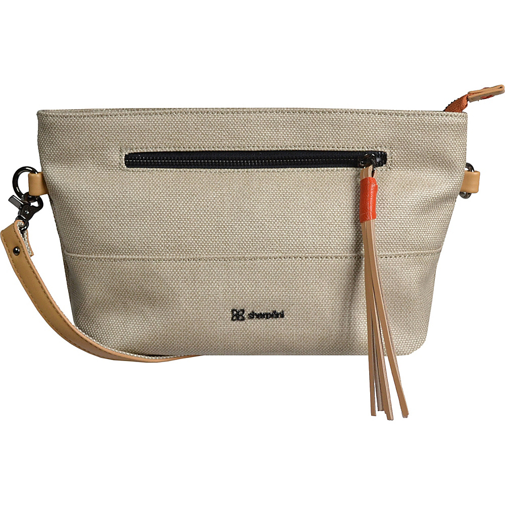 Sherpani Paige Crossbody Natural Sherpani Fabric Handbags