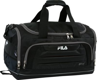 Fila Cypress Small Sport Duffel Bag Black/Grey - Fila Gym...