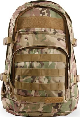 Highland Tactical Basecamp Heavy Duty Tactical Backpack Camo - Highland Tactical Day Hiking Backpacks