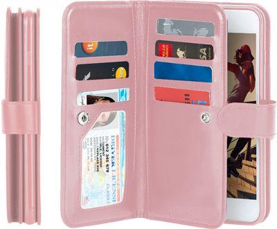 Gear Beast Dual-Folio Wallet iPhone 7 Plus Case Pink - iPhone 7 Plus - Gear Beast Electronic Cases