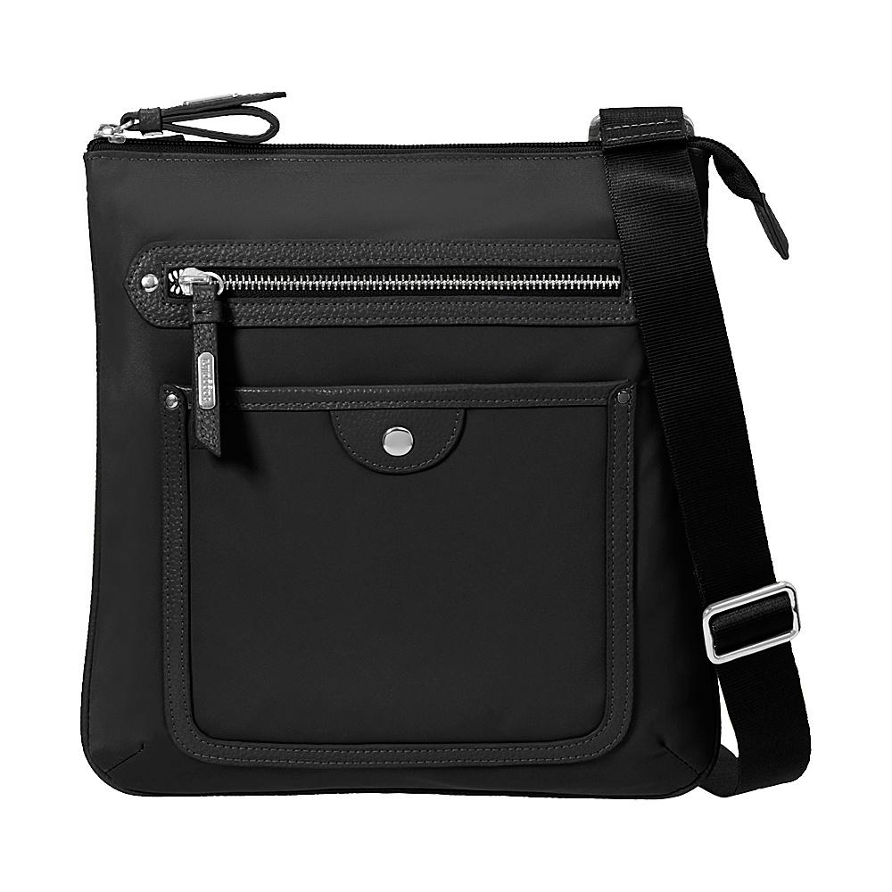 baggallini Highland Slim Crossbody Black - baggallini Fabric Handbags - Handbags, Fabric Handbags