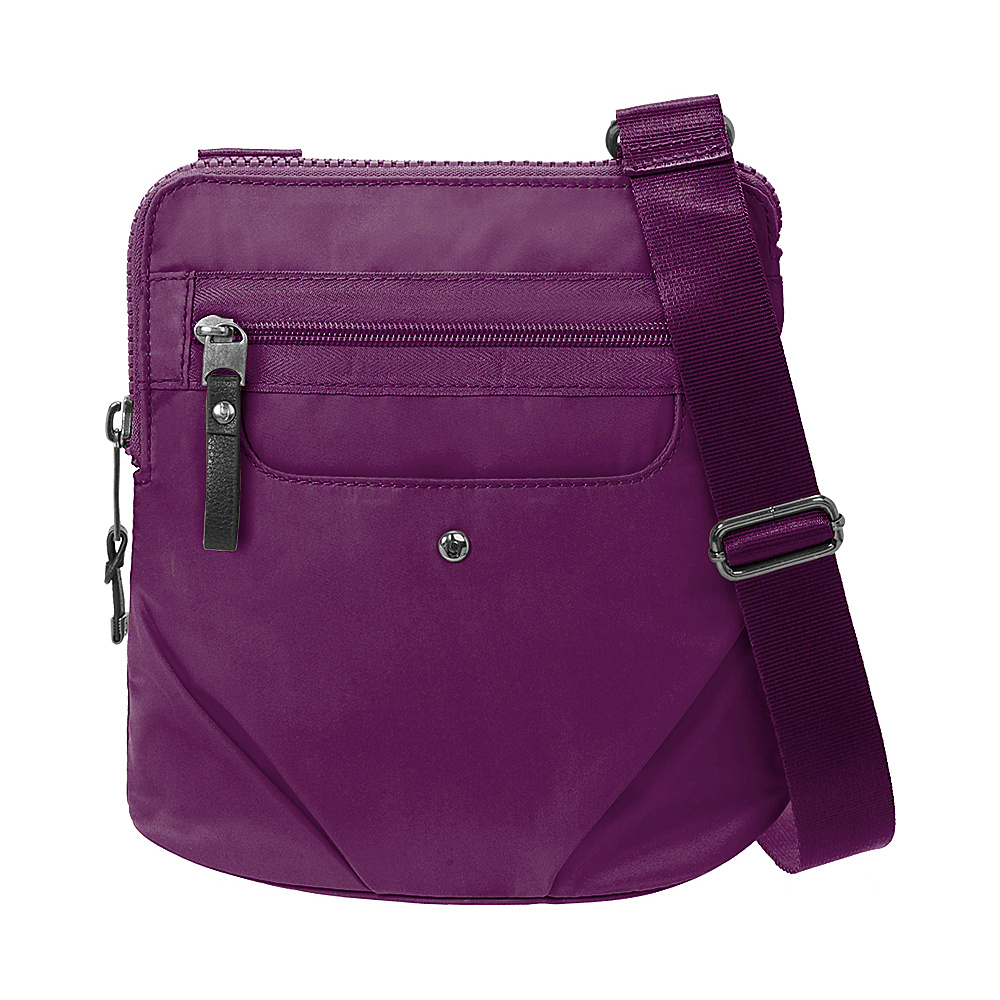 baggallini Walkabout Crossbody Mulberry - baggallini Fabric Handbags - Handbags, Fabric Handbags