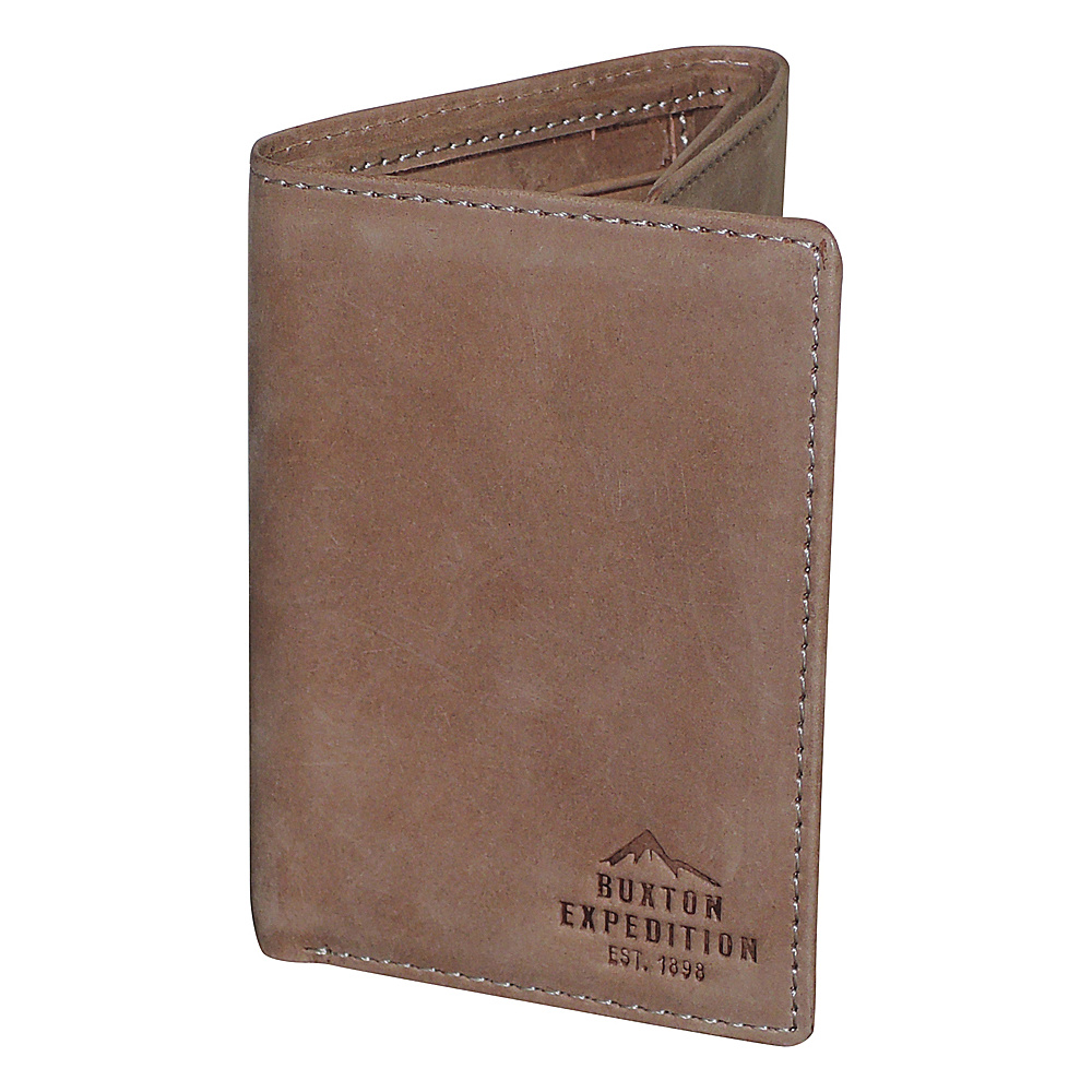 Buxton Expedition II RFID Three-Fold Saddle - Buxton Mens Wallets - Work Bags & Briefcases, Men's Wallets