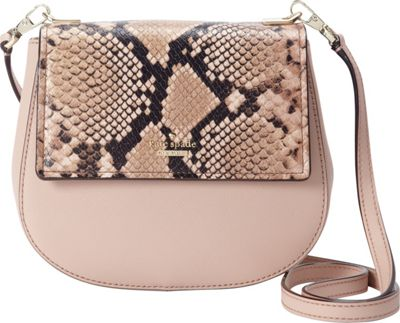 kate spade new york Cameron Street Snake Small Byrdie Crossbody Toasted Wheat - kate spade new york Designer Handbags