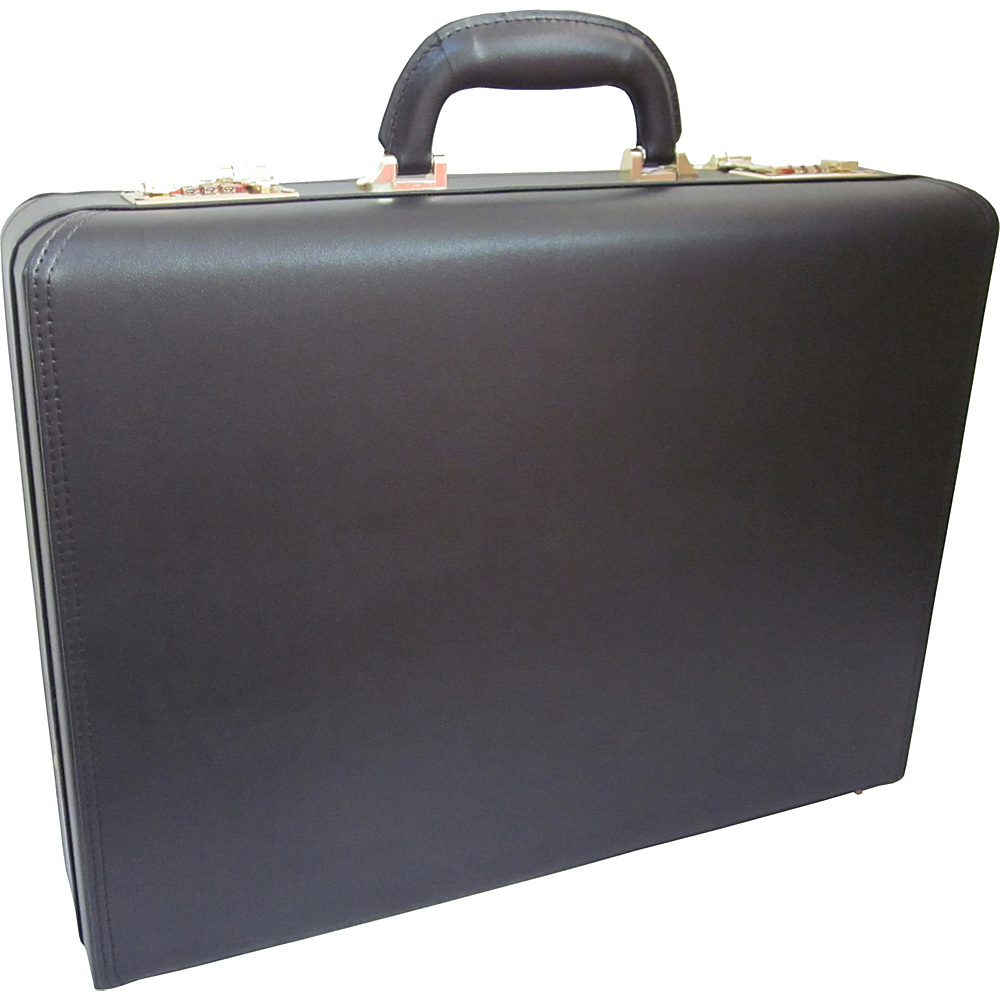 AmeriLeather Caldwell Executive Attache Case Black - AmeriLeather Non-Wheeled Business Cases - Work Bags & Briefcases, Non-Wheeled Business Cases