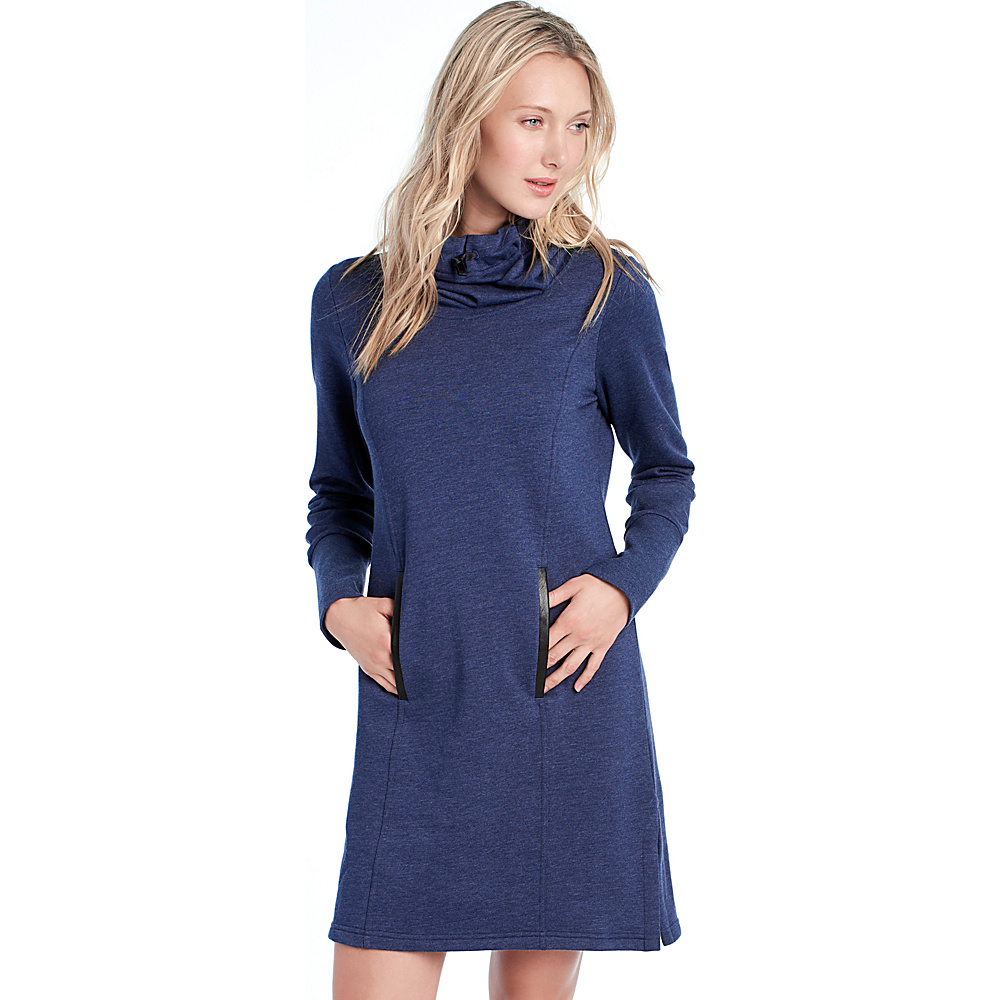 Lole Gray Dress XS - Amalfi Blue Heather - Lole Womens Apparel - Apparel & Footwear, Women's Apparel