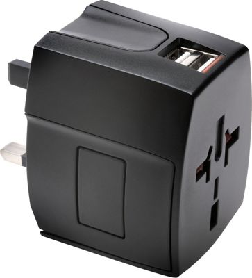 Kensington International Travel Adapter Black - Kensington Electronic Accessories