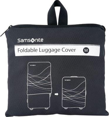 Samsonite Travel Accessories Foldable Luggage Cover - Medium Black - Samsonite Travel Accessories Luggage Accessories