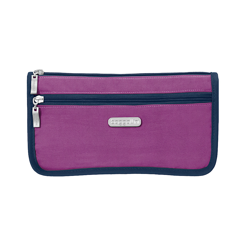baggallini Large Wedge Cosmetic Case - Retired Colors Magenta/Pacific - baggallini Womens SLG Other - Women's SLG, Women's SLG Other