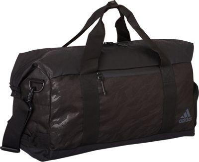 adidas Sport ID Duffel Tiger Style Camo Emboss/Black/Night Grey - adidas Gym Duffels
