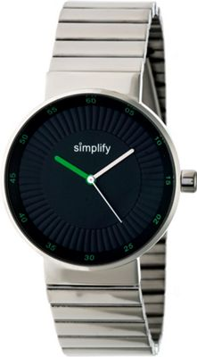 Simplify The 4600 Unisex Watch Silver/Green - Simplify Watches