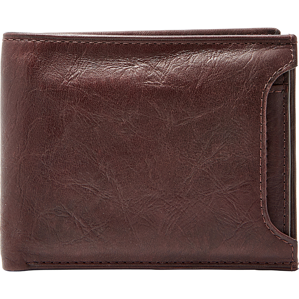 Fossil Ingram RFID Sliding 2 in 1 Bifold Brown - Fossil Mens Wallets - Work Bags & Briefcases, Men's Wallets