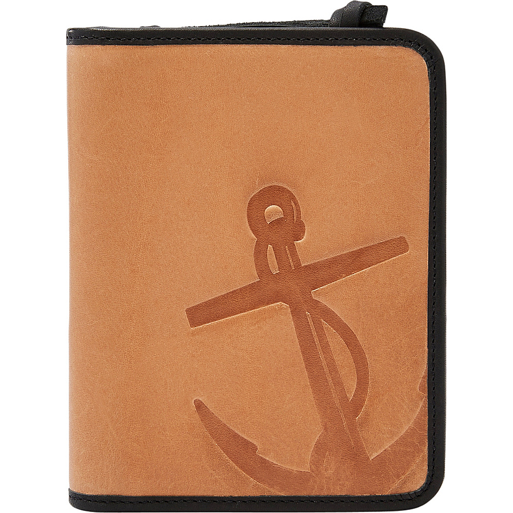 Fossil Troy RFID Passport Case Saddle - Fossil Travel Wallets - Travel Accessories, Travel Wallets