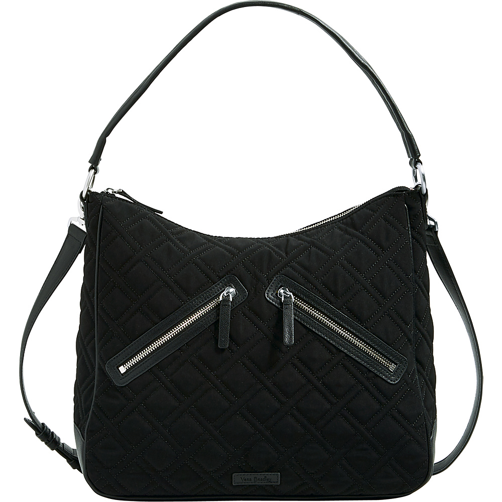 Vera Bradley Vivian Hobo Bag - Solid Black - Vera Bradley Fabric Handbags - Handbags, Fabric Handbags