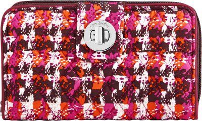 Vera Bradley RFID Turnlock Wallet Houndstooth Tweed - Vera Bradley Women's Wallets