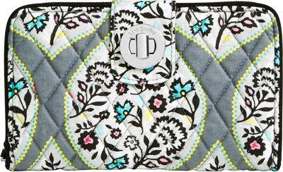 Vera Bradley RFID Turnlock Wallet Heritage Leaf - Vera Bradley Women's Wallets