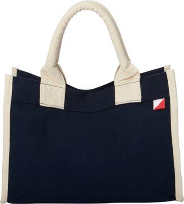 Shorebags Village Tote Navy - Shorebags Fabric Handbags