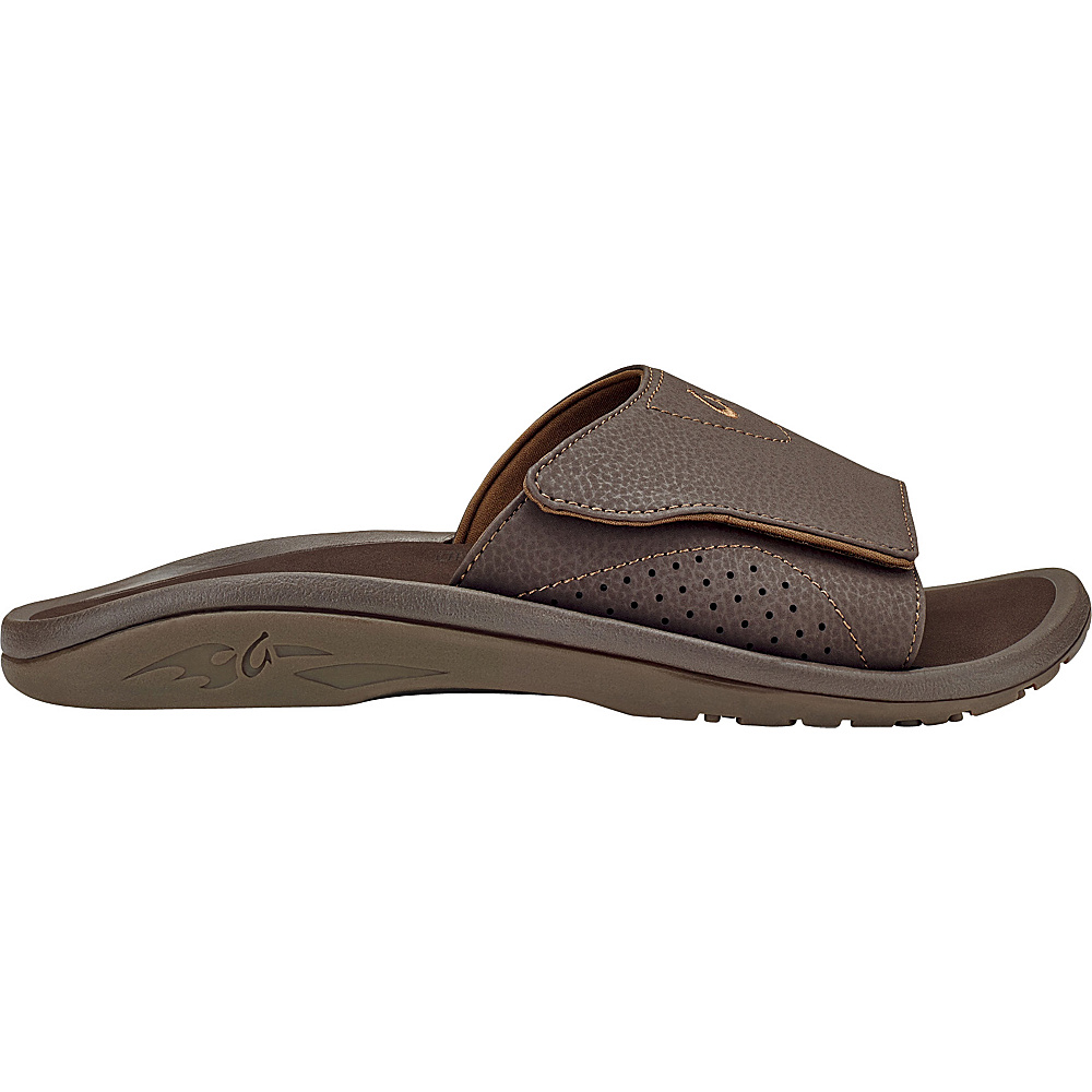 OluKai Mens Nalu Slide Sandal 7 - Dark Java/Dark Java - OluKai Mens Footwear - Apparel & Footwear, Men's Footwear