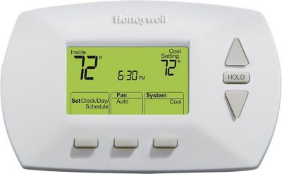 Honeywell Honeywell 5-2 Day Programmable Thermostat White - Honeywell Smart Home Automation