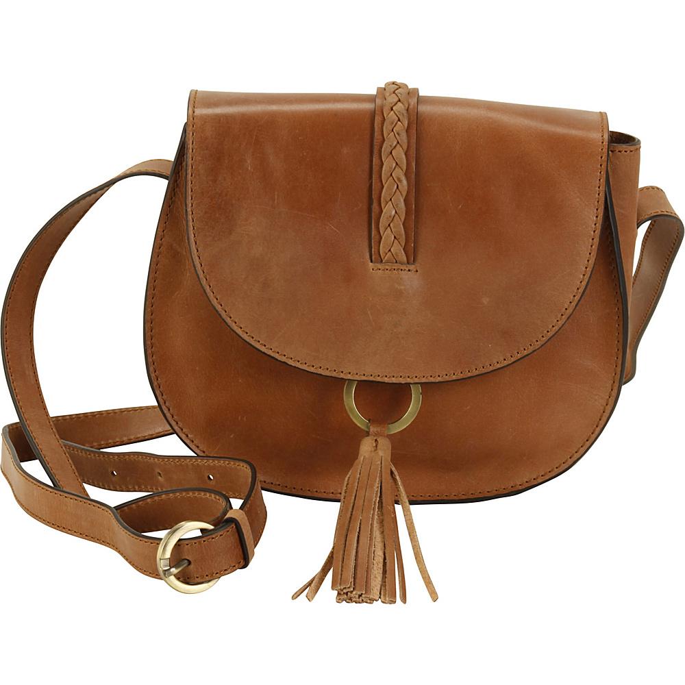 Hadaki Ring Saddle Distressed Sand - Hadaki Leather Handbags - Handbags, Leather Handbags