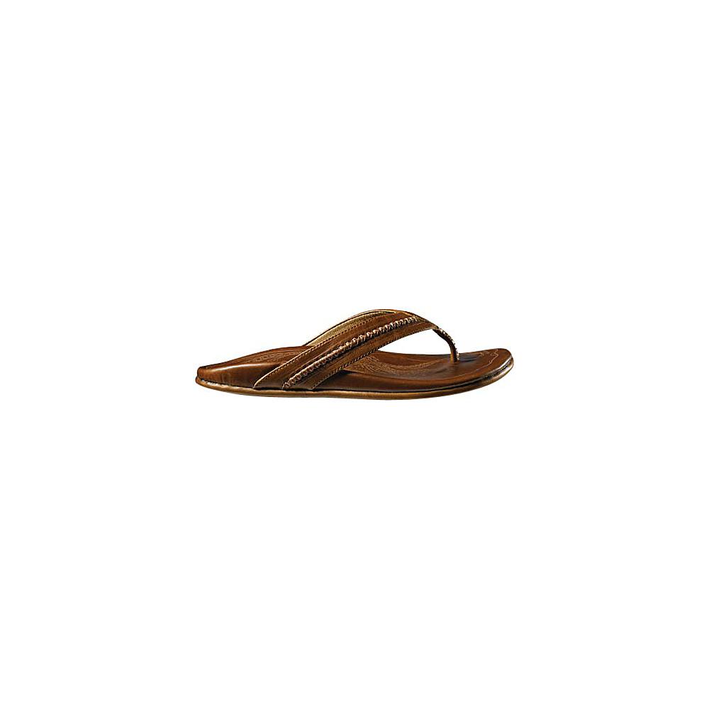 OluKai Mens Mea Ola Sandal 8 - Ginger/Ginger - OluKai Mens Footwear - Apparel & Footwear, Men's Footwear