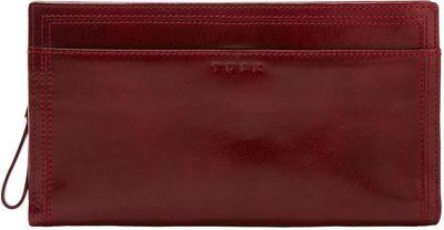 TUSK LTD Snap Clutch Wristlet Wallet Oxblood - TUSK LTD Women's Wallets