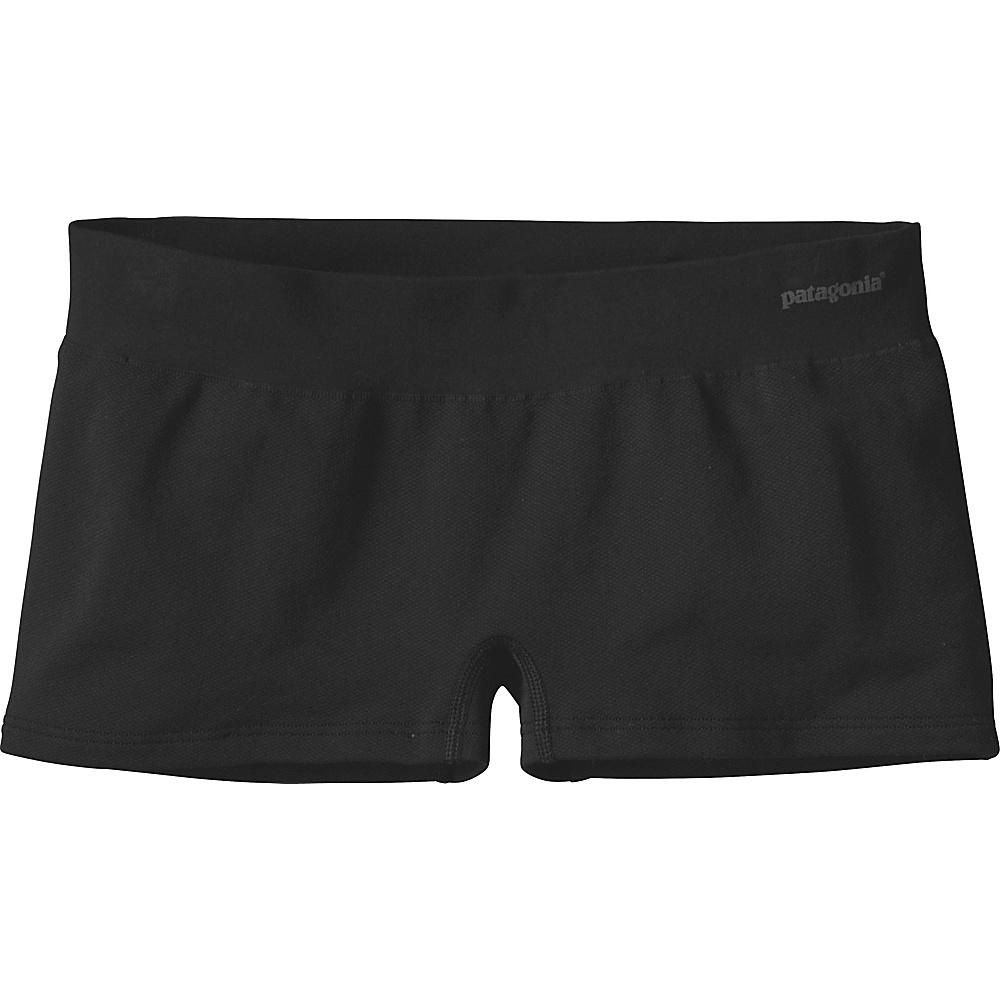 Patagonia Womens Active Mesh Boy Shorts XS - Black - Patagonia Womens Apparel - Apparel & Footwear, Women's Apparel
