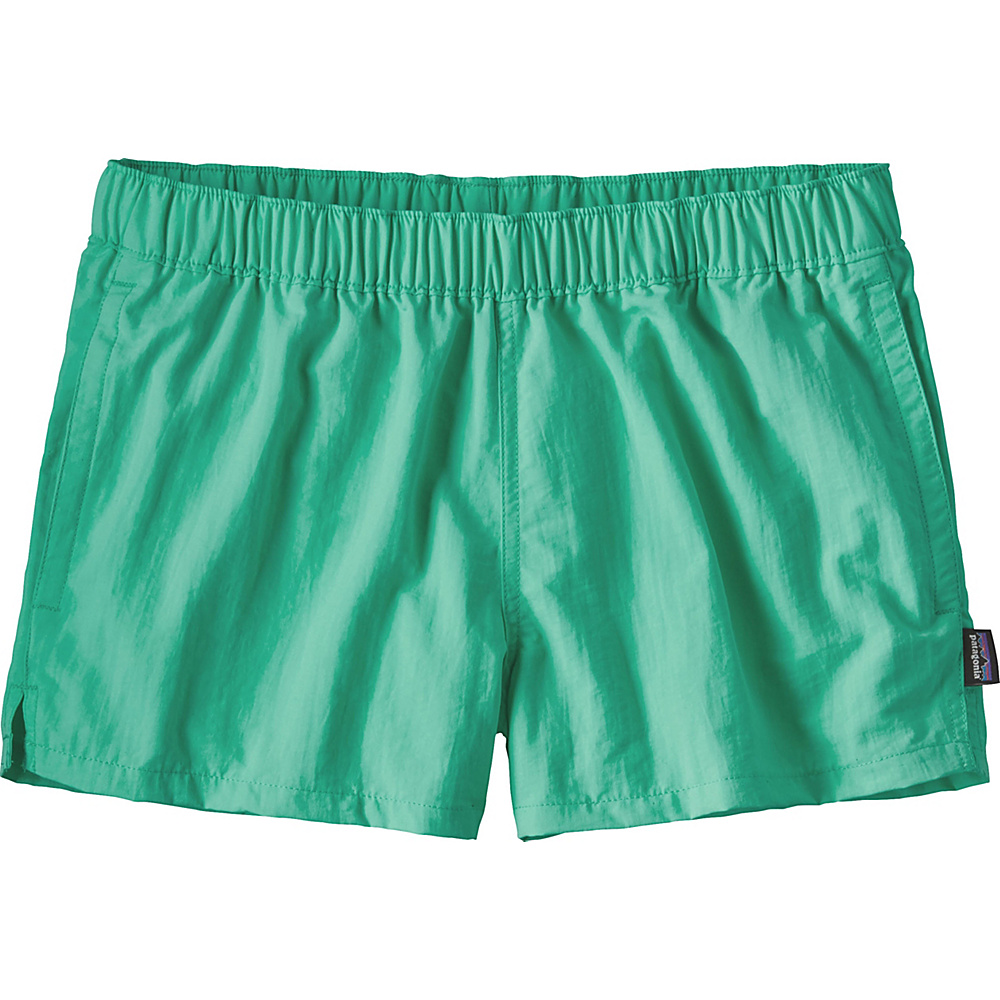 Patagonia Womens Barely Baggies Shorts M - 2.5in - Galah Green - Patagonia Womens Apparel - Apparel & Footwear, Women's Apparel