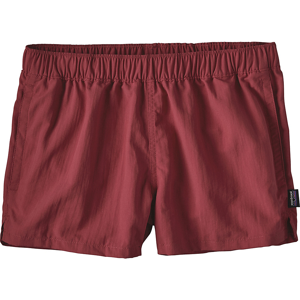 Patagonia Womens Barely Baggies Shorts S - 2.5in - Adzuki Red - Patagonia Womens Apparel - Apparel & Footwear, Women's Apparel