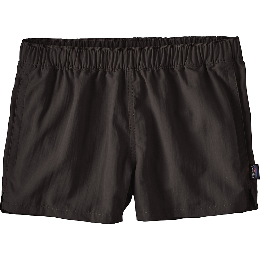 Patagonia Womens Barely Baggies Shorts S - 2.5in - Black - Patagonia Womens Apparel - Apparel & Footwear, Women's Apparel