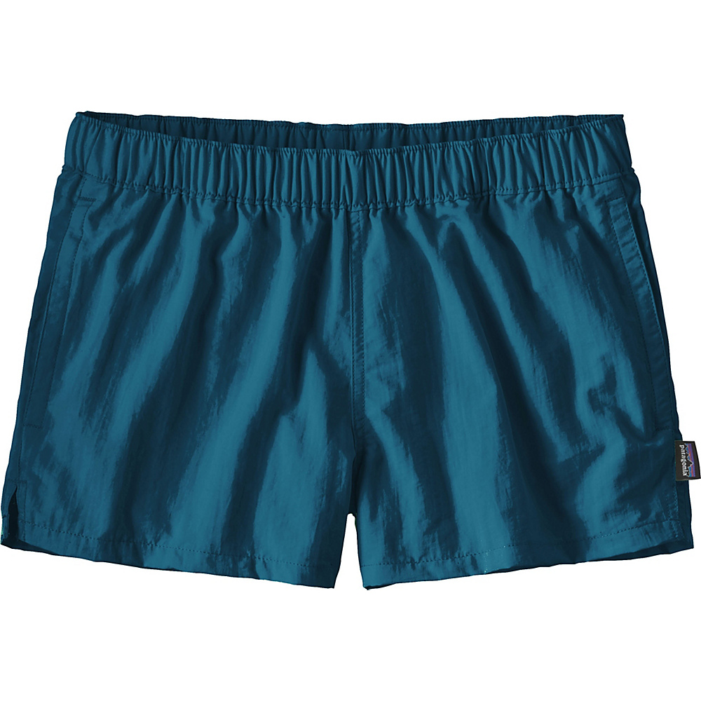 Patagonia Womens Barely Baggies Shorts L - 2.5in - Big Sur Blue - Patagonia Womens Apparel - Apparel & Footwear, Women's Apparel