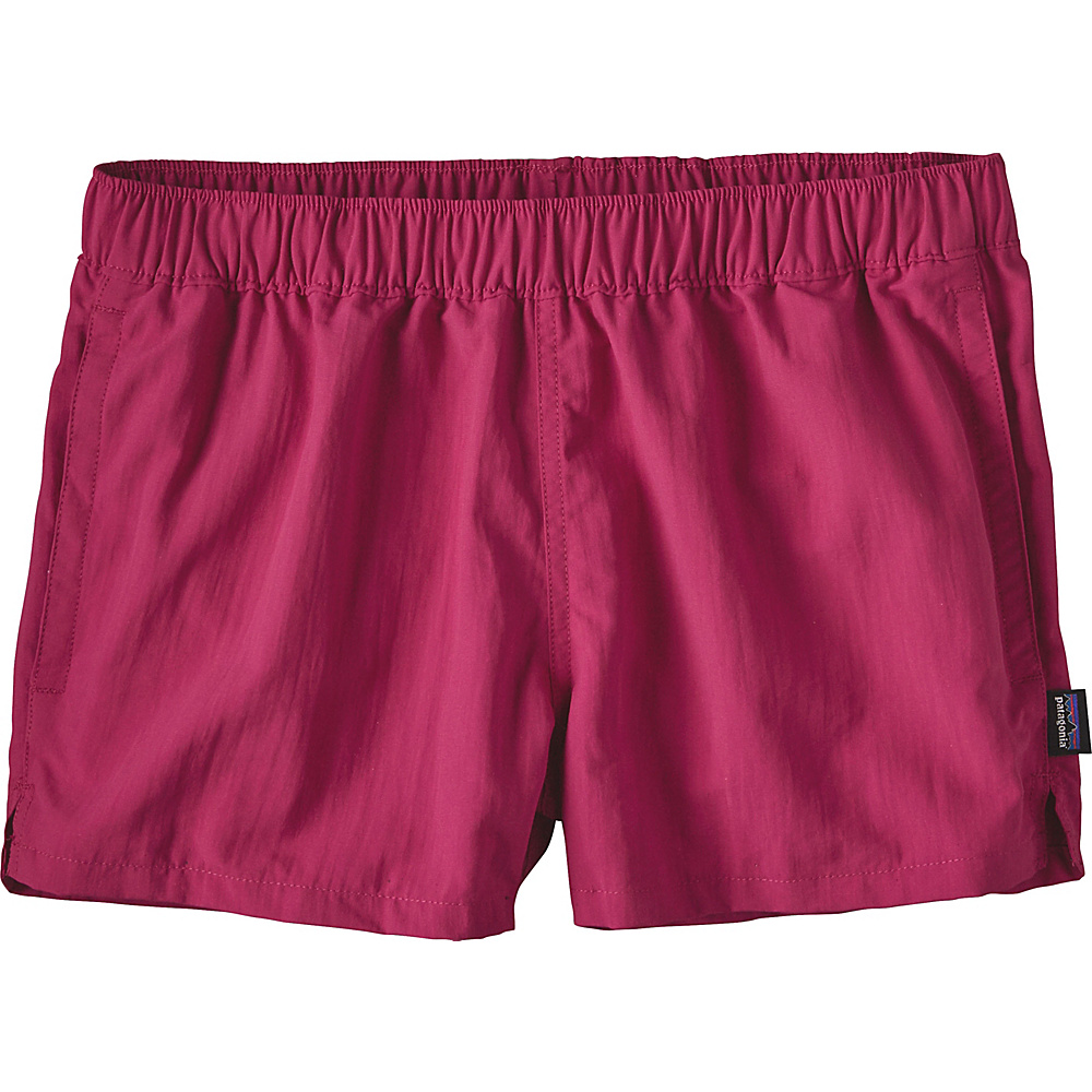 Patagonia Womens Barely Baggies Shorts M - 2.5in - Craft Pink - Patagonia Womens Apparel - Apparel & Footwear, Women's Apparel