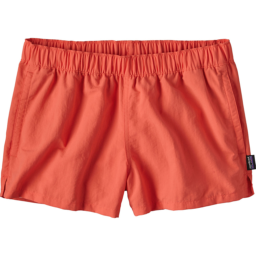 Patagonia Womens Barely Baggies Shorts M - 2.5in - Carve Coral - Patagonia Womens Apparel - Apparel & Footwear, Women's Apparel