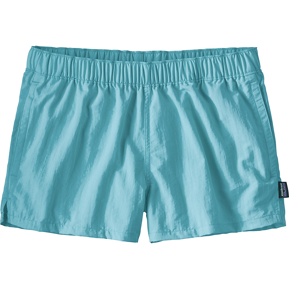 Patagonia Womens Barely Baggies Shorts S - 2.5in - Cuban Blue - Patagonia Womens Apparel - Apparel & Footwear, Women's Apparel