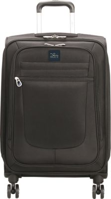 Skyway Revel 21 inch Carry-On Spinner Upright Black - Skyway Softside Carry-On