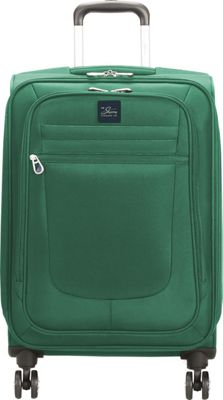 Skyway Revel 21 inch Carry-On Spinner Upright Teal - Skyway Softside Carry-On