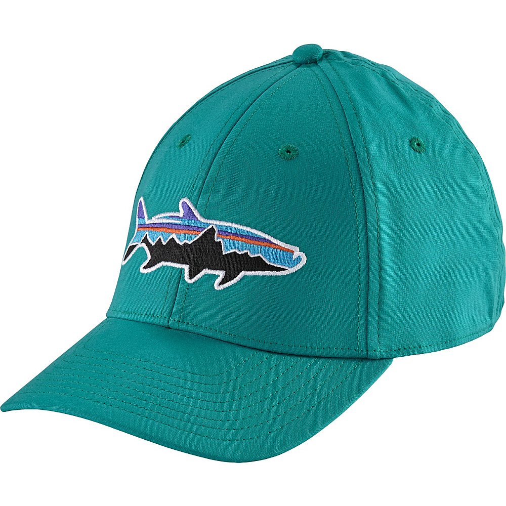 Patagonia Fitz Roy Tarpon Stretch Fit Hat L/XL - True Teal - Patagonia Hats/Gloves/Scarves - Fashion Accessories, Hats/Gloves/Scarves