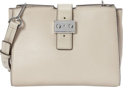 MICHAEL Michael Kors Bond Medium Messenger Cement - MICHAEL Michael Kors Designer Handbags