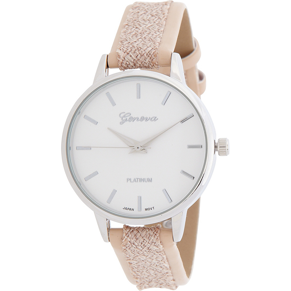 Samoe Mix Media Strap Watch Cream Samoe Watches
