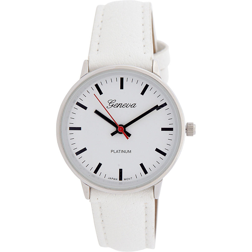 Samoe Round Face Watch White Samoe Watches
