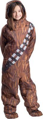 Selk'bag Kids Star Wars Wearable Sleeping Bag: Chewbacca Chewbacca - Medium - Selk'bag Outdoor Accessories