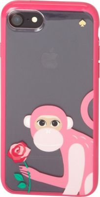 kate spade new york Monkey With Rose iPhone 7 Case Pink Multi - kate spade new york Electronic Cases