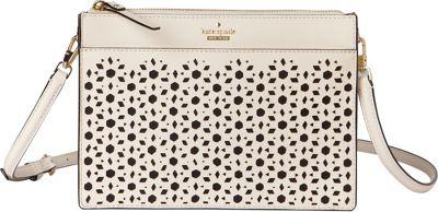 kate spade new york Cameron Street Perforated Clarise Crossbody Cement - kate spade new york Designer Handbags