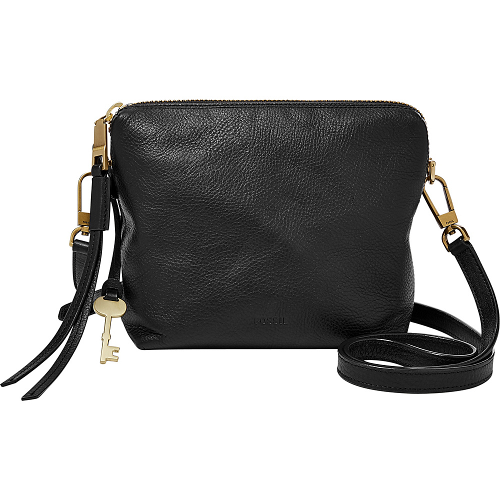 Fossil Maya Crossbody Black - Fossil Leather Handbags - Handbags, Leather Handbags
