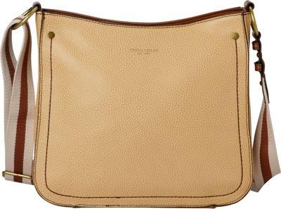 Tignanello The Explorer Messenger Tan - Tignanello Leather Handbags