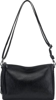 The Sak Pfieffer Demi Black Onyx - The Sak Leather Handbags