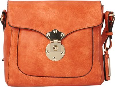 Hush Puppies Chila Crossbody Orange - Hush Puppies Manmade Handbags