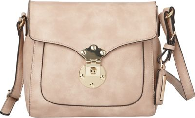 Hush Puppies Chila Crossbody Blush - Hush Puppies Manmade Handbags