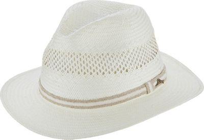 Tommy Bahama Headwear Vent Toyo Safari Hat L/XL - Ivory-L/XL - Tommy Bahama Headwear Hats